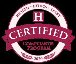Health Ethics Trust Certified Compliance Program 2020